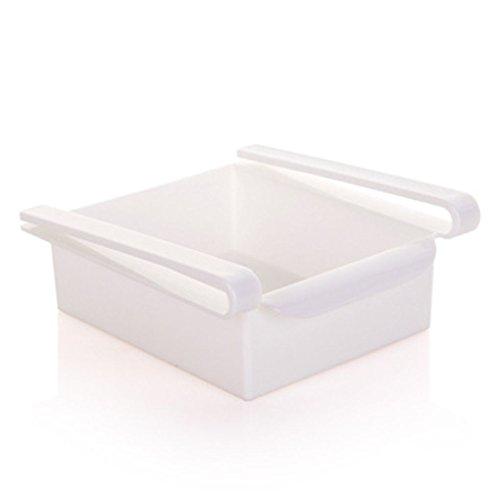 Uzinb Multi Function ABS Refrigerator Storage Box Sliding Drawers Design Storage Box