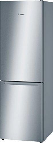 Bosch KGN36NL30 Freestanding 214L 86L Stainless steel fridge-freezer – fridge-freezers (freestanding, Bottom-placed, A++, Stainless steel, SN-T, LED)