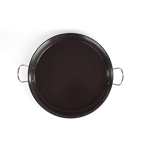 PaellaWorld   Padella per paella a induzione, 46 cm, in acciaio al carbonio, con rivestimento antiaderente 3