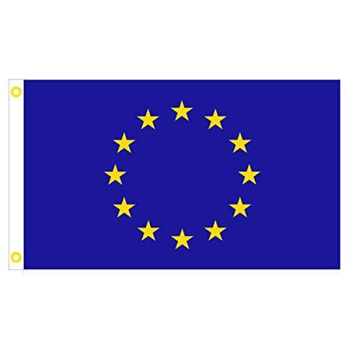 BGF Bandiera Europa Bandiera EU Bandiera 150 x 90 cm Tessuto 100 G/M²