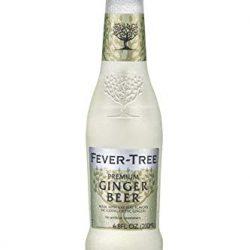 Fever – Tree, Refreshingly Light, Ginger Beer, Pack 0f 24