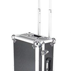 IQE-Storage TB-1R Box di trasporto su ruote e manico telescopico, LxPxH: 450 mm x 350 mm x 210 mm, nero