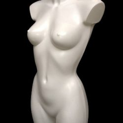 Colore Bianco Donna Sportswear Manichino Busto for Lingerie Swimwear Fashion And Shopfittings