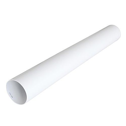 La Ventilazione CTR1125B Tubo per Aerazione Canalizzata Tondo in PVC, diametro 125 mm