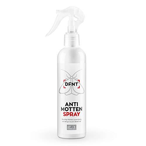 Spray Anti-tarme Armadio DFNT l Prodotti antitarme Vestiti e tarme da Legno 250 ml biodegradabile l Alternativa a Trappola per tarme Vestiti e mobili