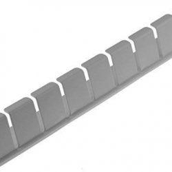 Piebert – Portabottiglie da fissare al frigorifero, 31cm.x 4,5cm.x 3,5cm. (adatto a molti frigoriferi, ad es. Bosch, Bauknecht, Siemens, Gorenje, Liebherr, Miele, Neff, LG, ecc.)