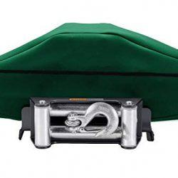 Coperchio per verricello Deluxe impermeabile antipolvere, copertura protettiva con elastico, si adatta alla maggior parte degli argani elettrici 62 x 33 cm, CYFC1533