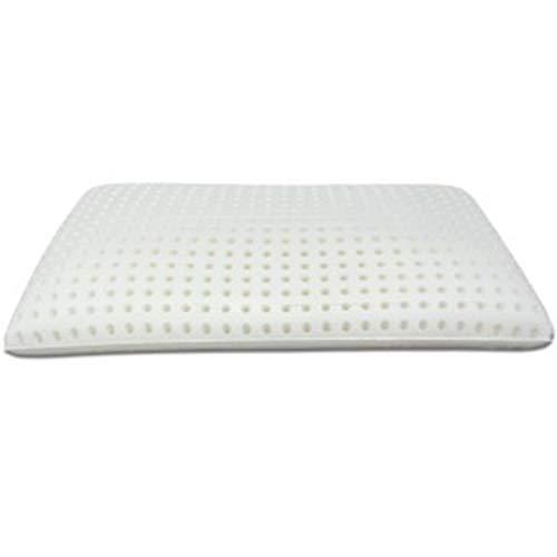 Cuscino in memory antisoffoco per bambino, guanciale per culla e lettino con fodera aloe sfoderabile, 50 x 30 x 5,5 cm 3
