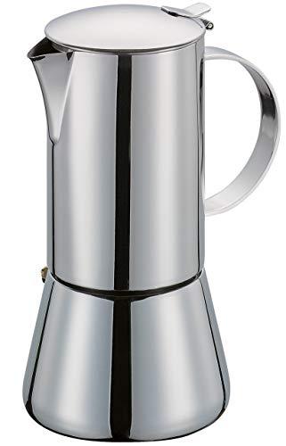 KitchenCraft Le'Xpress caffettiera da 12 tazzine per fornello, Makluminium