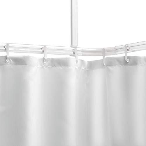 Sealskin Easy Roll Asta per Tenda da Doccia, Acciaio Inossidabile, Bianco, Personalizzabile