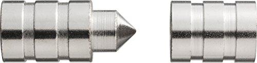 Abus 006241 TAS82 – Protezione per cerniera, nichelata