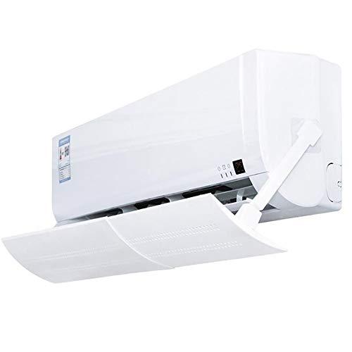 Winbang Deflettore a Scomparsa del condizionatore d'Aria, deflettore Anti-Freddo Regolabile Antivento del Parabrezza dello Schermo del condizionatore d'Aria