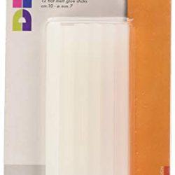 CWR T705M, Stick Colla a Caldo, 10 x 0.7 cm, Confezione da 12 pezzi