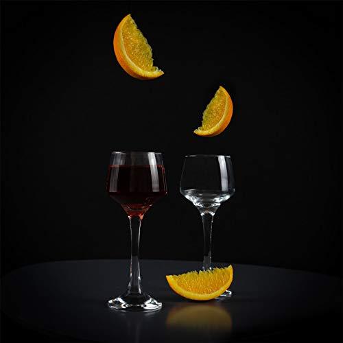 Argon Tableware Bicchiere da Sherry/liquore – in Vetro – 80 ml – 6 Pezzi 7