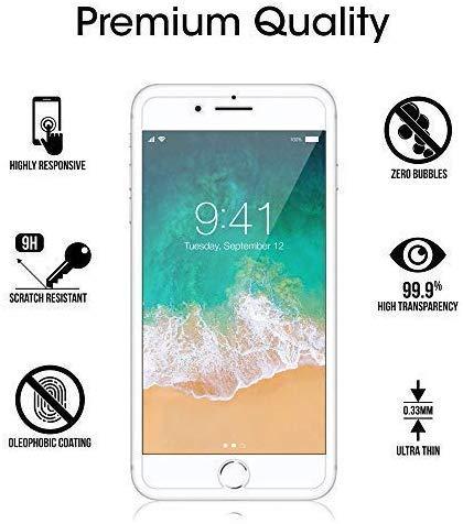 Ramcox 9H Durezza Trasparente Vetro Temperato per Apple iPhone XS Max, Nessuna Bolla, Anti-Impronte, Facile da Pulire, 2 Pezzi 3