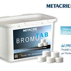 Metacril BROMO Tab – Bromo in tavolette da 20gr – 1 kg – Ideale per Piscina o Idromassaggio (Teuco,Jacuzzi,Dimhora,Intex,Bestway,ECC.) Spedizione IMMEDIATA 2