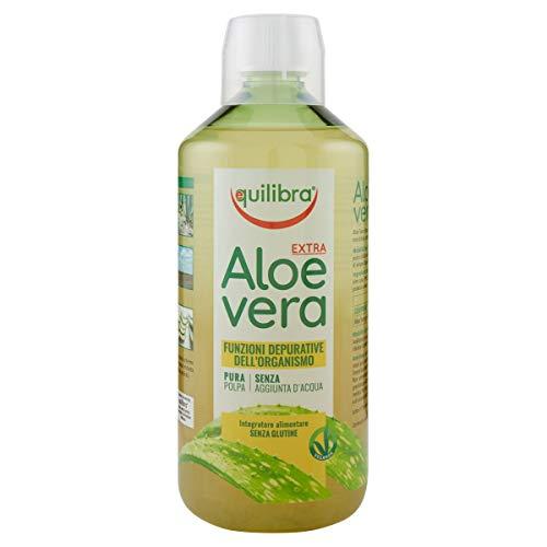 Matt Succo Depurativo di Aloe Vera da Bere – Puro al 100%, 1000 ml