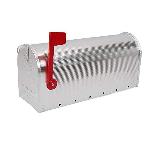 PrimeMatik – Buca delle Lettere US Mail Alluminio per Postale Americano Argento