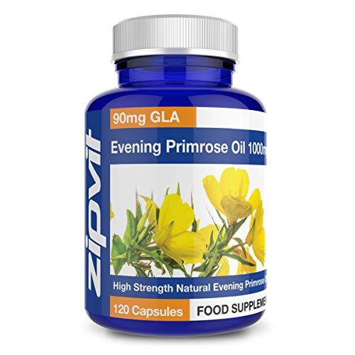 Olio di Enotera 1000 mg -180 capsule – 6 mesi di trattamento – SimplySupplements