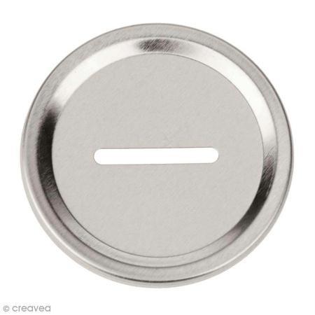Glorex einlege Parabrezza salvadanaio, Alluminio, Argento, 12x 8.6x 0.3cm