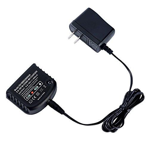 Caricatore di alta qualità per Black & Decker 9.6V-18V Ni-Cd Ni-MH A18hpb18A14HPB14A12hpb12