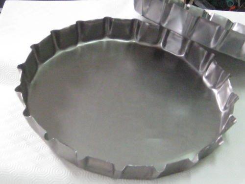 Tegame tegami in lamiera per focaccia pugliese barese altamura Ø 40 x 4.5 cm