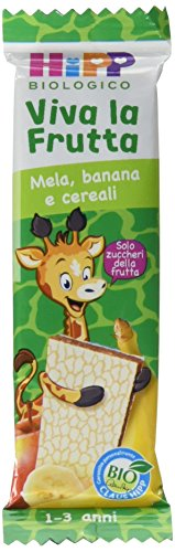 Hipp Barrette Viva la Frutta Mela Banana e Cereali – 22 barrette da 23 g