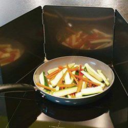[neu.haus] Pannello paraschizzi Vetro fornello Cucina Protezione Anti Schizzo 2