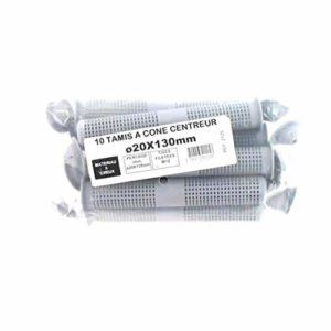 Batifix – Setaccio a cono regolabile, confezione da 10, 20 x 130 mm