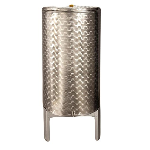 Mistermoby Serbatoio Inox Vino Galleggiante A Camera D'Aria Contenitore Cisterna 2