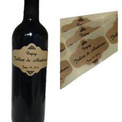 80Etichette Personalizzate di bottiglia di vino 2
