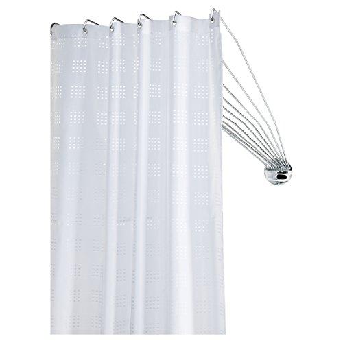 Sealskin Umbrella Binario Incurvato per Tenda da Doccia, Acciaio Inox, Cromato, 8 x 90 x 5,5 cm