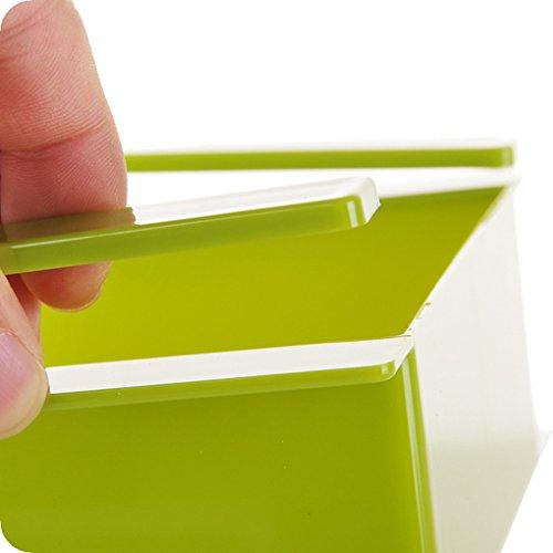 Uzinb Multi Function ABS Refrigerator Storage Box Sliding Drawers Design Storage Box 5