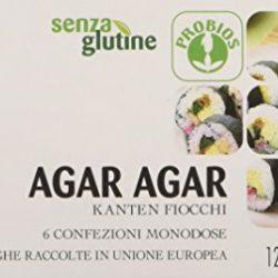 Probios Agar in Confezione Monodose senza Glutine – 1 Pezzo