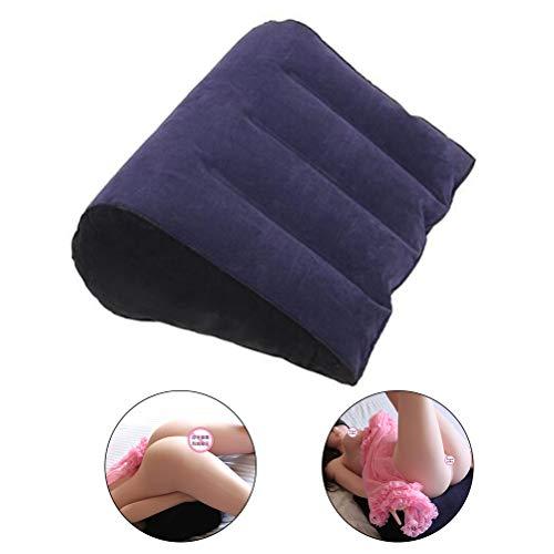 Coppia gonfiabile Lounge Cuscino per il sesso Poggiapiedi Cuscino per piedi medio Supporto per gambe Gonfia e sgonfia per comodità di viaggio riduce il gonfiore migliora la circolazione