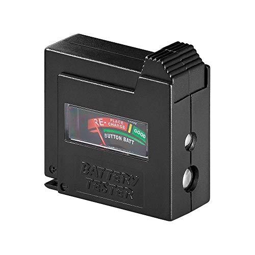 Goobay 54020 Tester Batterie, Nero