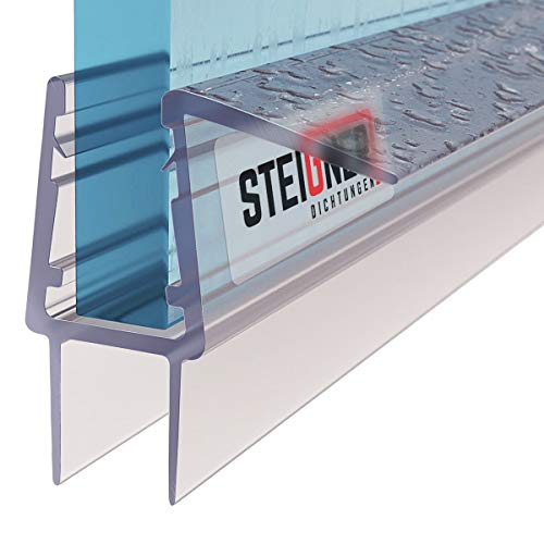 STEIGNER Guarnizione di Ricambio 80 cm UK20-10 per Vetri di Spessore 10 mm / 11 mm