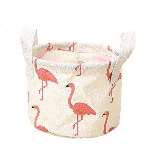 iTemer Storage Bag Home Tessuto Impermeabile cesta portaoggetti Portatile Cotone Cestino portaoggetti
