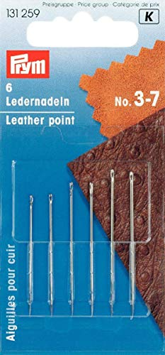 Prym Aghi per pelle con Punta Triangolare 2