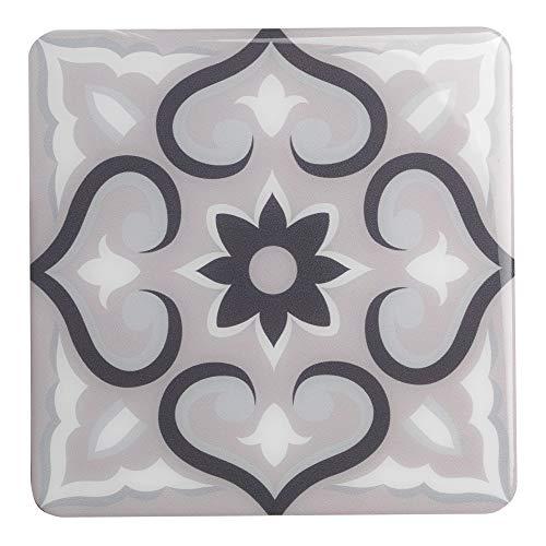 Plage 4 Decorazione di Piastrelle adesive 3D-Lazzaro, Grigio, 15x15cm 2