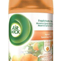 Air Wick Freshmatic Ricarica Spray Automatico, Agrumi,  250 ml