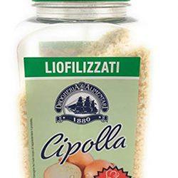 Cipolla in Fiocchi Essiccata – 250 g – Gusto Fresco Naturale – Spezie Essenziale e Indispensabile in Cucina – Soffritto, Sughi, Salse e Insalate