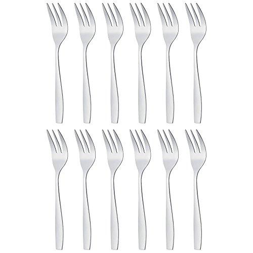 """Gräwe Serie""""Moni"""" Confezione da 12 forchette da dolce"""