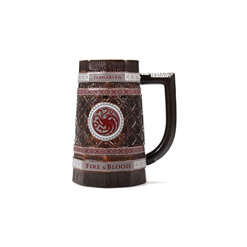 Half Moon Bay MUGSTGT04 Boccale Birra Targaryen, Il Trono di Spade, Ceramica 2