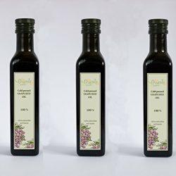 Grapoila pacchetto di olio di vinaccioli spremuto a freddo (3*250 ml)