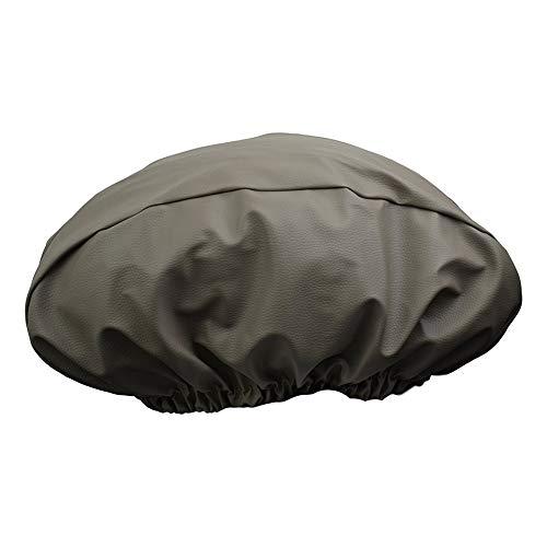 QEES verricello per verricello in pelle PU, resistente ai raggi UV e impermeabile, protezione per verricello elettrico fino a 500 kg, 54,6W x 24,1H x 19,1D cm, Grigio