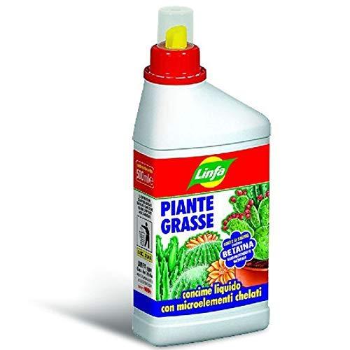 CONCIME LIQUIDO PER PIANTE GRASSE CACTACEE E SUCCULENTE IN CONFEZIONE DA 500 ML