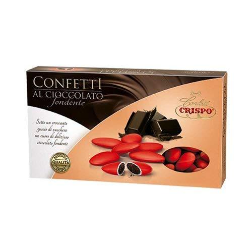 Confetti Crispo Confetti Snob Confetti con mandorla intera tostata, Rosa, 1 confezione da 500 grammi