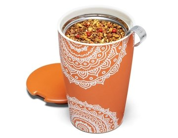 Tea Forte' Kati – Arancio – Chakra (Kati Cup – Chakra) Tazza Termica con INFUSORE 3