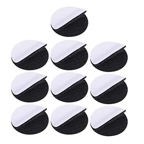 Yardwe 20 Pezzi 4 Pollici Rotondo Autoadesivo Nastro ad Anello Puntini Fissaggio Montaggio Double Sided Sticky Backing Tape